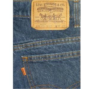 VTG 70s Levi's Orange Tab 217 Straight Leg Jeans